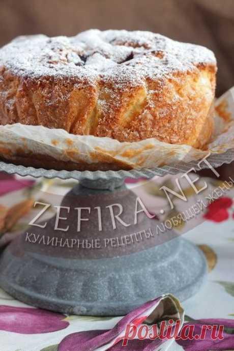 Сливовый пирог «Удачный» — Кулинарные рецепты любящей жены