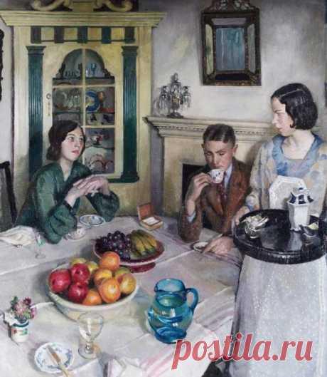 Британский художник Harold Harvey (1874-1941)