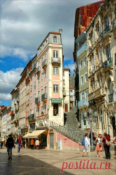 Coimbra   Rua Ferreira Borges, Coimbra, Portugal   Carlos Goulão   Flickr