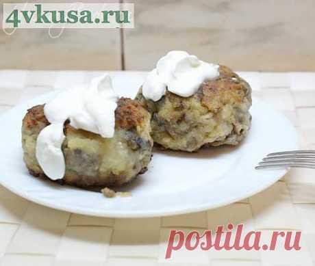 Биточки грибные | 4vkusa.ru