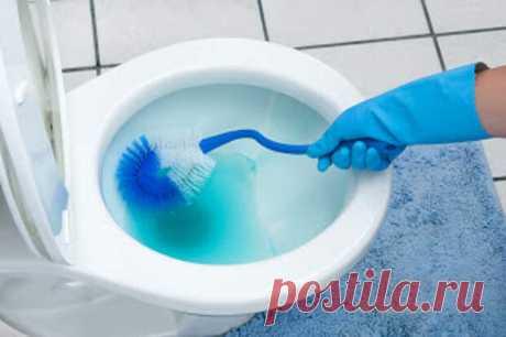 Эффективные способы очистки унитаза
