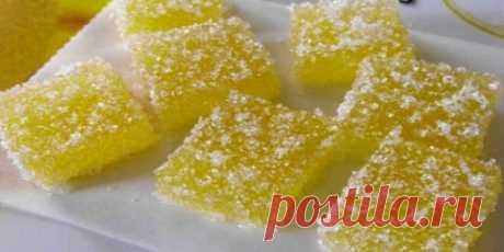 Мармелад из лимона Чудо-мармелад. Просто, быстро и невероятно аппетитно
