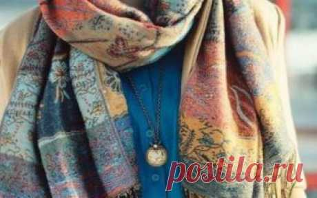 Miracles with palatines and scarfs! it needs to be seen …