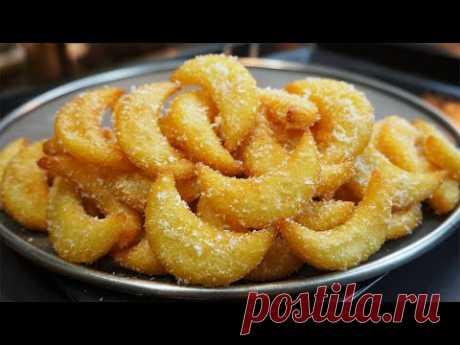 Как приготовить картофель фри | Хрустящий картофель фри | Картофель полукругом | ASMR Кулинария