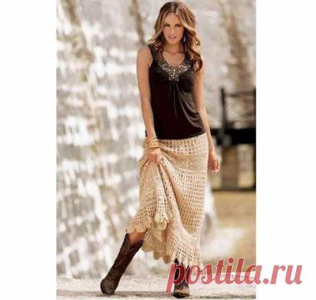 Crochet skirts women Boho skirt Crochet maxi skirt Bohemian | Etsy