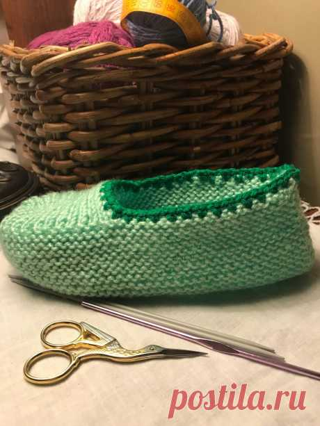 Super Simple and Easy  Knit A Short Socks Проще простого. Следки спицами за пару часиков  подробное видео
