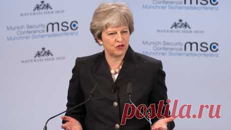 May wins backing for new security treaty with EU
