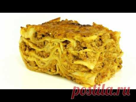 De la escalada. Detallado el vídeo la receta de la preparación del plato famoso italiano.