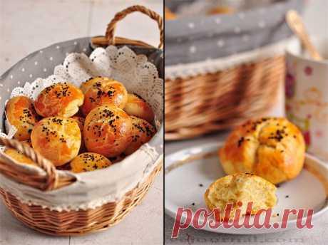 Сырные турецкие булочки (бездрожжевые)