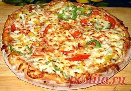 Рецепт пиццы «Экзотика»
