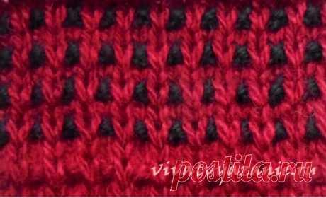 Woven pattern spokes: description of a pattern