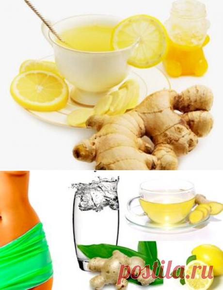 Чай с имбирем для похудения - как приготовить и когда пить?