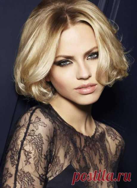 11 роскошных укладок для коротких волос на новогоднюю ночь 2019