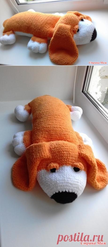 Собака - подушка - Вязание - Страна Мам