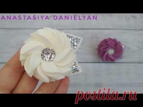 Посмотрите какие Милые ЦВЕТЫ из ФОАМИРАНА 😍/ CRAFT ideas  / EVA Foam Paper Flowers