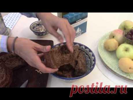 """Кисло-сладкое мясо """"Эйсик флейш""""\Запеченная картошка\Гренки"""