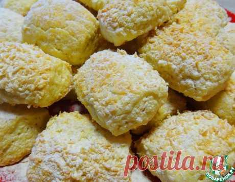 """Печенье """"Кокосовая нежность"""" – кулинарный рецепт"""
