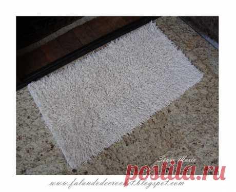 Пушистые коврики и декоративые подушки своими руками — Делаем руками