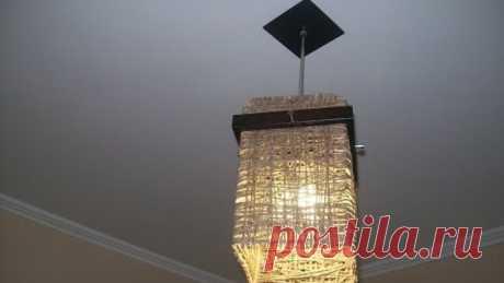 АБАЖУР для ЛЮСТРЫ своими руками - ЛЮСТРА lampshade Vintage Lamp Designs