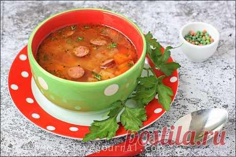 Чечевичный суп с копчеными колбасками - Осиный домик — LiveJournal