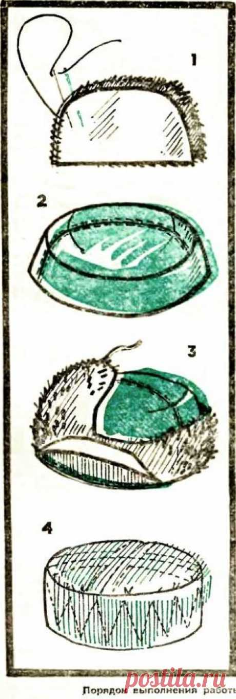 Шьем шапку-ушанку
