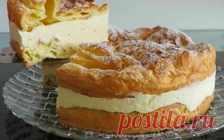 ¡La torta de Karpatka - el amor del primer trozo! ¡El gusto por las palabras no entregar, es necesario preparar y probarlo! Es la cocción muy hermosa.