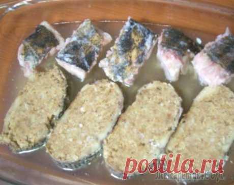 El pez rellenado (de las recetas viejas).