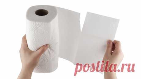 10 бытовых хитростей с использованием бумажных полотенец