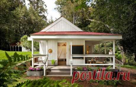 Уютный летний домик площадью 24 квадратных метра — INMYROOM