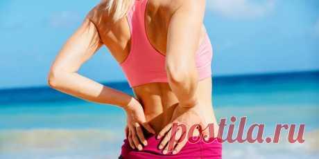 Как укрепить мышцы спины за 15 минут, если болит поясница