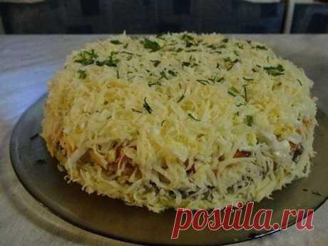 Как приготовить салат бонапарт