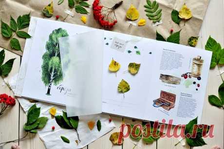 Входит две книги — «Листья деревьев» и «Цветы и травы». Тексты написаны учёным-биологом, а реалистичные акварельные иллюстрации откроют читателю мир растений, научат внимательнее относиться к природе и искренне восхищаться её красотой.