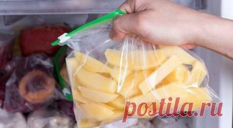 Как хранить почищенный картофель несколько дней и без морозилки, чтобы он не почернел