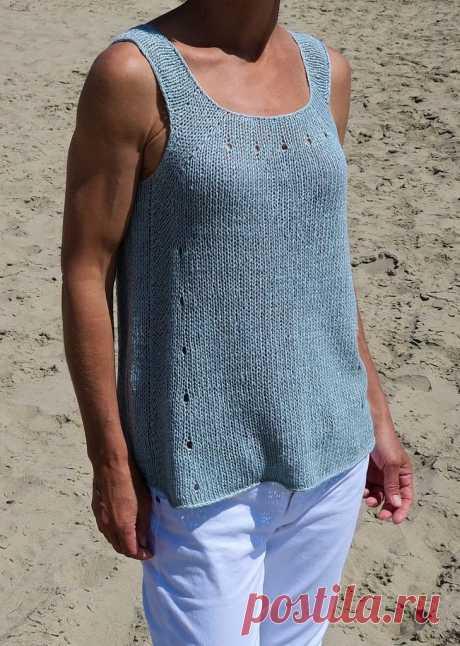 La camiseta veraniega del lino Big Wave