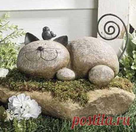 Las ideas para la casa de campo: el diseño insólito de las piedras en su jardín