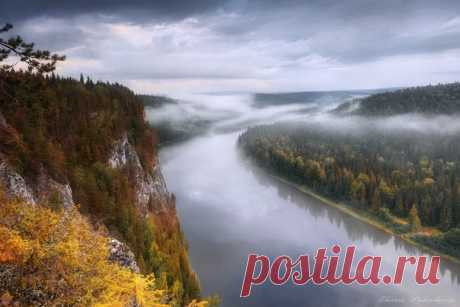 Река Вишера, Пермский край. Автор фото: Елена Соколова.