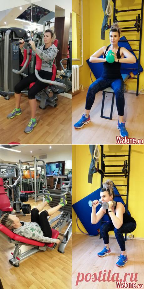 Чем заменить дома упражнения на тренажерах - фитнес, упражнения, фитнес дома, домашние тренировки, силовые тренировки дома