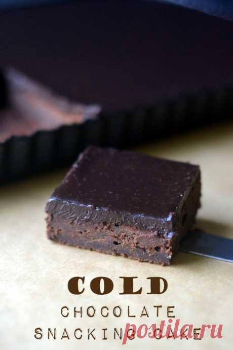 Холодный шоколад закусочный торт | вид с Большого острова