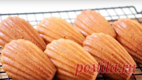 Лимонное печенье Мадлен - Лучший сайт кулинарии