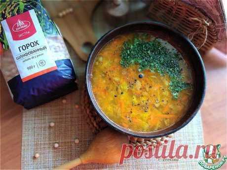 Гороховый суп с острым огурцом Кулинарный рецепт