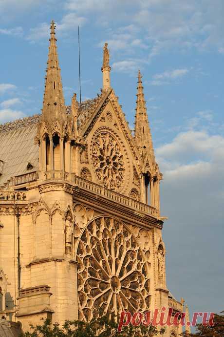 Прогулка берегами Сены:Собор Парижской Богоматери