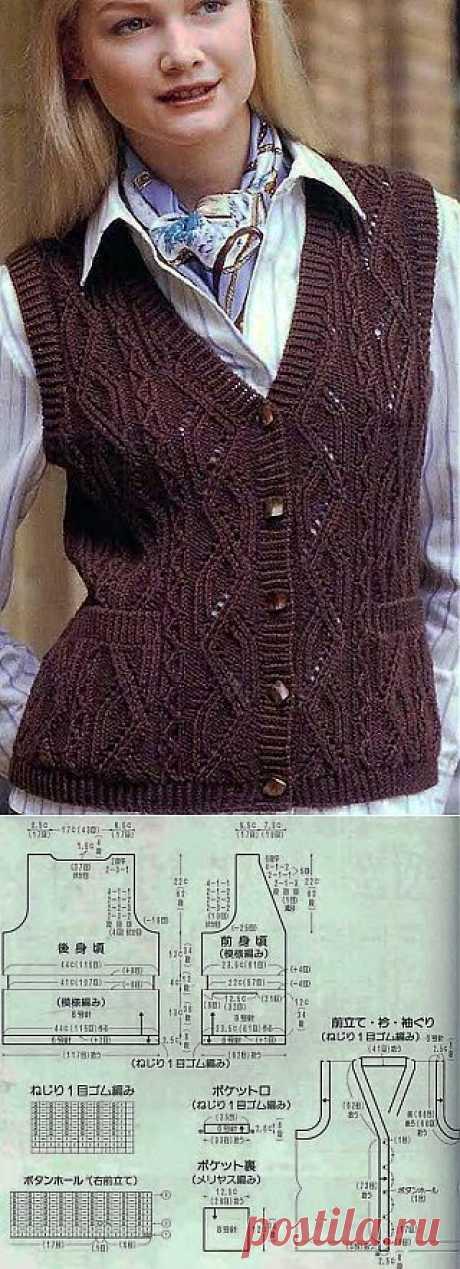 Women's vest spokes
