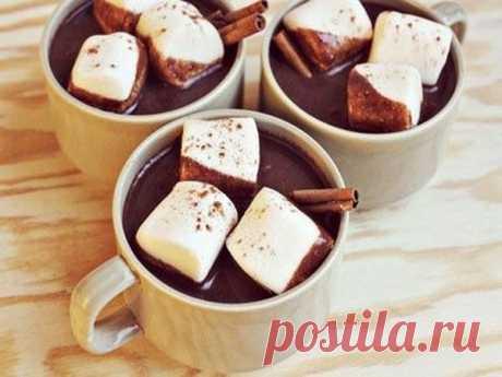 Горячий шоколад с корицей - Пошаговый рецепт с фото своими руками Горячий шоколад с корицей - Простой пошаговый рецепт приготовления в домашних условиях с фото. Горячий шоколад с корицей - Состав, калорийность и ингредиенти вкусного рецепта.