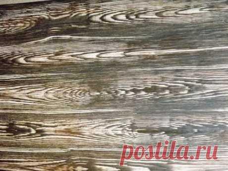 Краска (Штукатурка) под дерево. Paint (plaster) with wood texture - YouTube