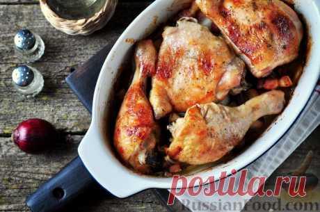 Куриные окорочка - сытные и аппетитные рецепты!