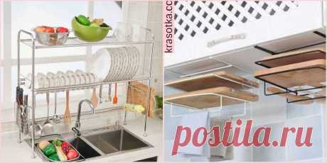 Благоустроенность кухни: 10 крутых идей для хранения кухонной утвари