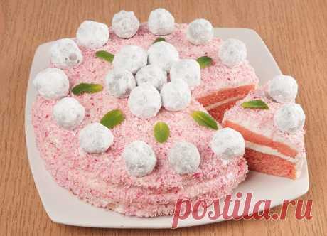 Как из лучшей кондитерской! Торт «Розовый бархат»