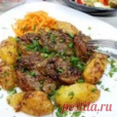 Запечённые свиные пятачки Кулинарный рецепт