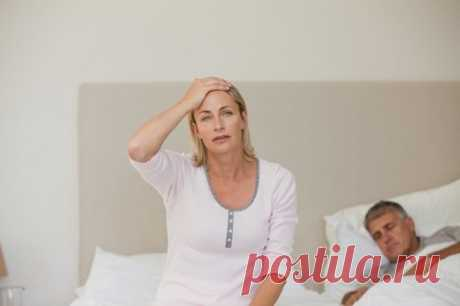 Бессонница при климаксе: причины и лечение — СОВЕТНИК