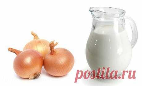 Рецепт лука с молоком от кашля — реально помогает за два дня свести кашель на нет!
